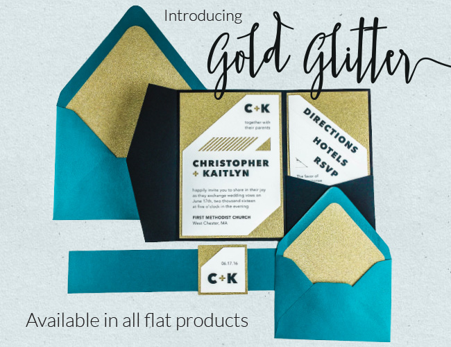 Cards and pockets gold glitter products for Cards and pockets com