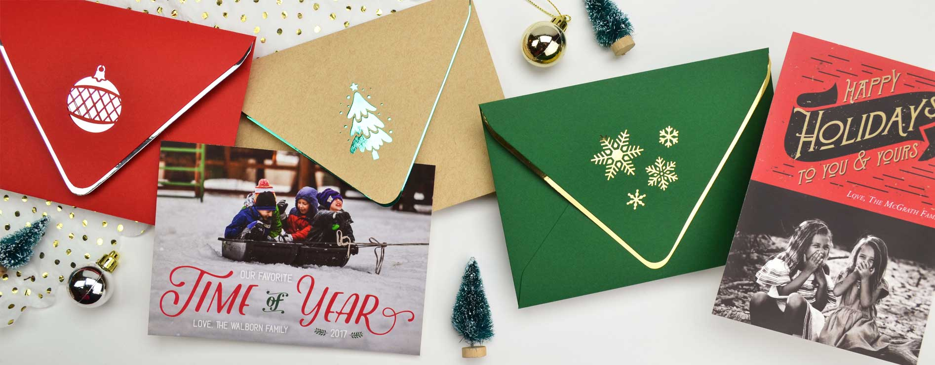 Holiday Cards and Envelopes