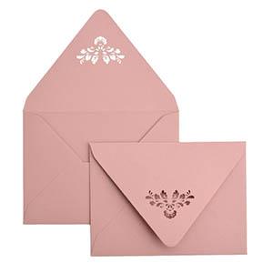 Damask A7 Laser Cut Envelope