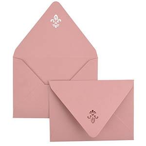 Fleur De Lis Laser Cut Envelope