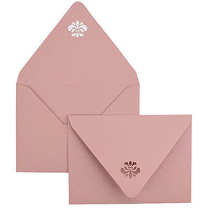 Medallion Laser Cut Envelope