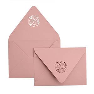 Greenery Laser Cut Envelope