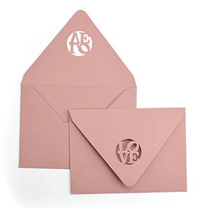 Love Laser Cut Envelope
