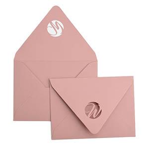 Modern Script Laser Cut Envelope