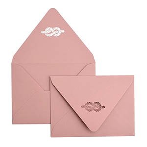 Tie the Knot Laser Cut Envelope