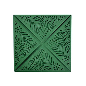 Tropical Laser Petal Fold 6x6