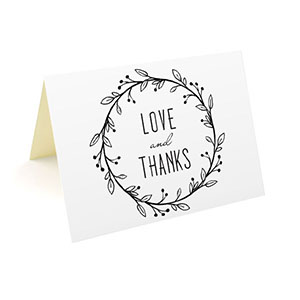 Standard Thank You Cards