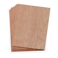 Real Wood 8 1/2 x 11 Sheets