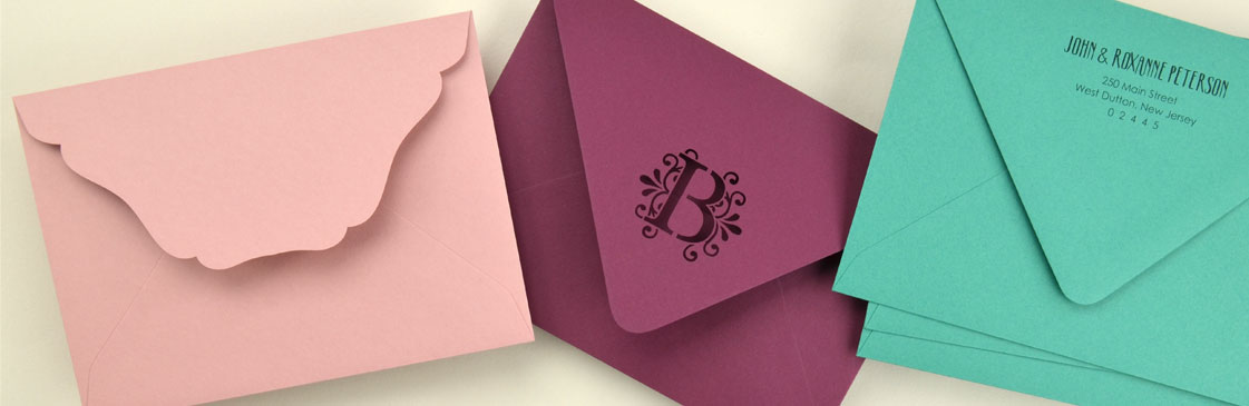 Colorful Wedding Envelopes