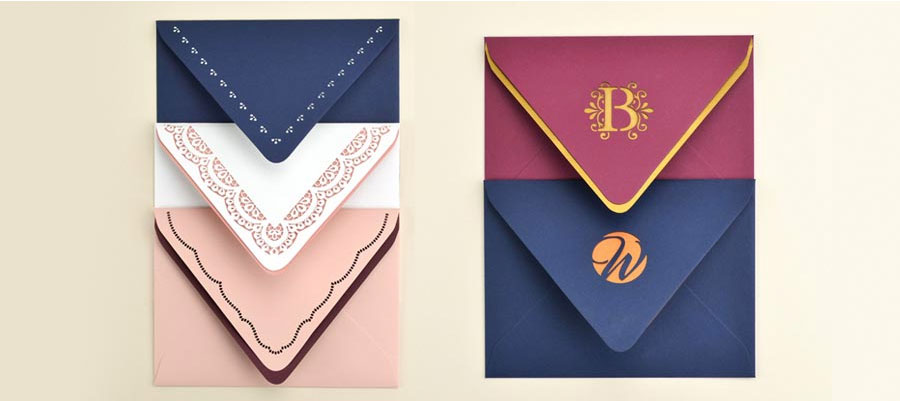 Laser Cut Elegant Envelopes