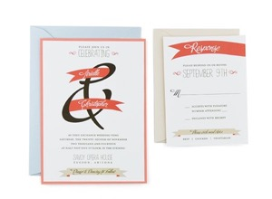 Cards and pockets free wedding invitation templates with rsvp banner of love free wedding invitation template stopboris Images