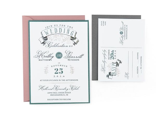 Banner Free Wedding Invitation Template - Diy template wedding invitations