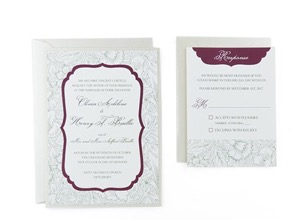 Free Wedding Invitation Templates With RSVP  Invitations Templates