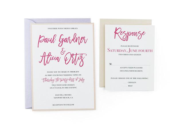 free wedding invitation