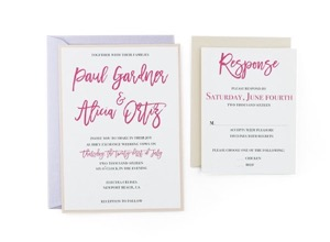 free wedding invitation