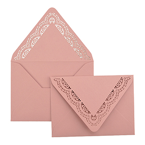 Doily A7 Laser Cut Envelope