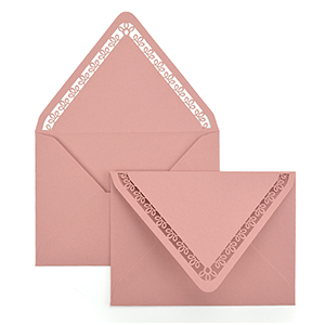 Eyelet A7 Laser Cut Envelope
