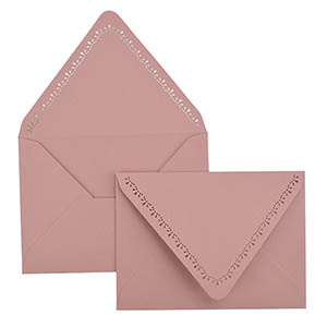 Dainty A7 Laser Cut Envelope