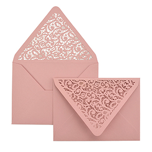 Lace A7 Laser Cut Envelope
