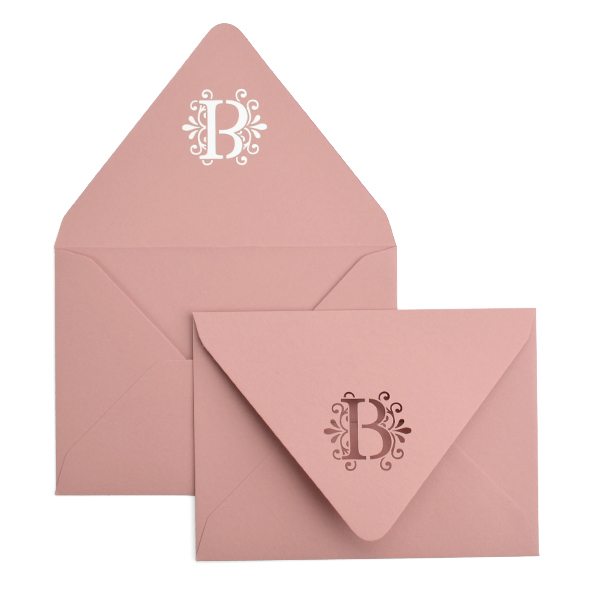 Chinese style Heart Envelope Stickers Seals for Wedding Invitations No. 9