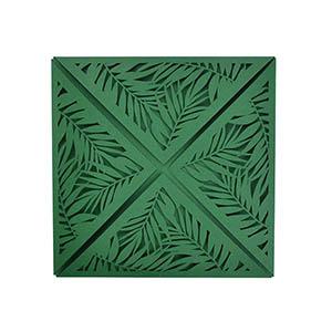 Tropical Laser Petal Fold (6x6)