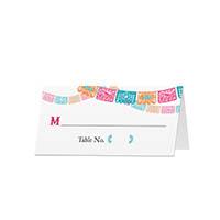 Fiesta - Blank Folded Place Cards