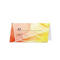 Modern Geometric - Blank Folded Place Cards