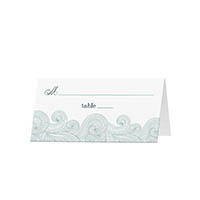 Ocean Waves - Blank Folded Place Cards