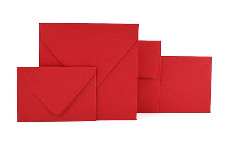 red envelopes dozens of red envelope sizes styles and hues