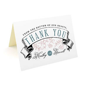 Customizable Thank You Cards