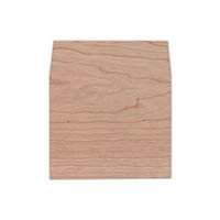 Real Wood Square Flap Liners