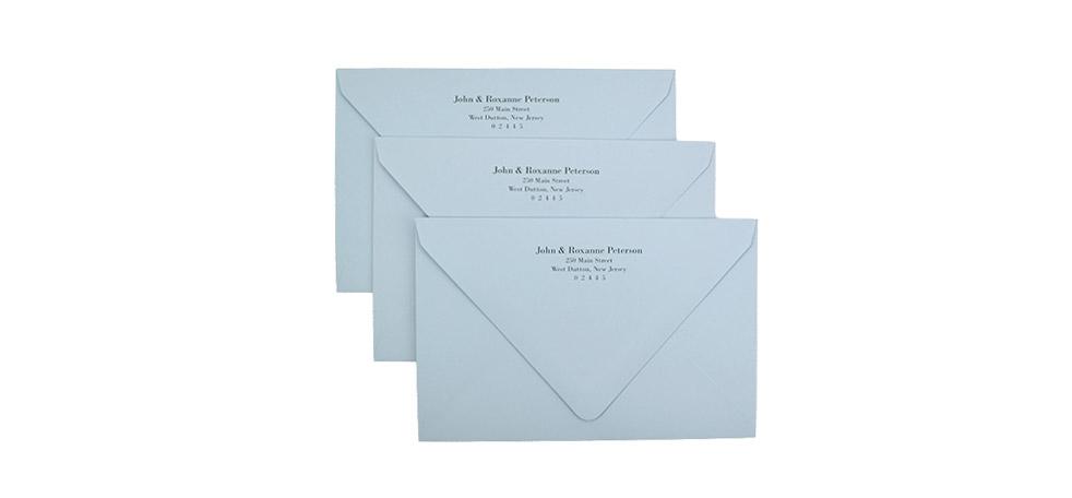 Return Address Printed Envelopes