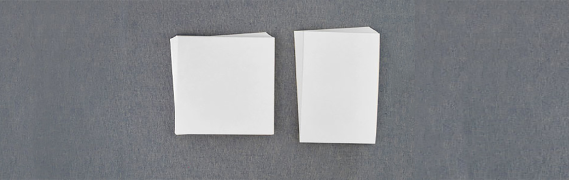Blank Invitation Cards - Pre Cut for Easy Printing at Home