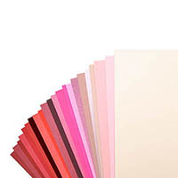 Red and Pink Cardstock