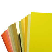Yellow and Orange Cardstock
