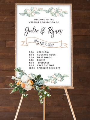 Custom Wedding Signs