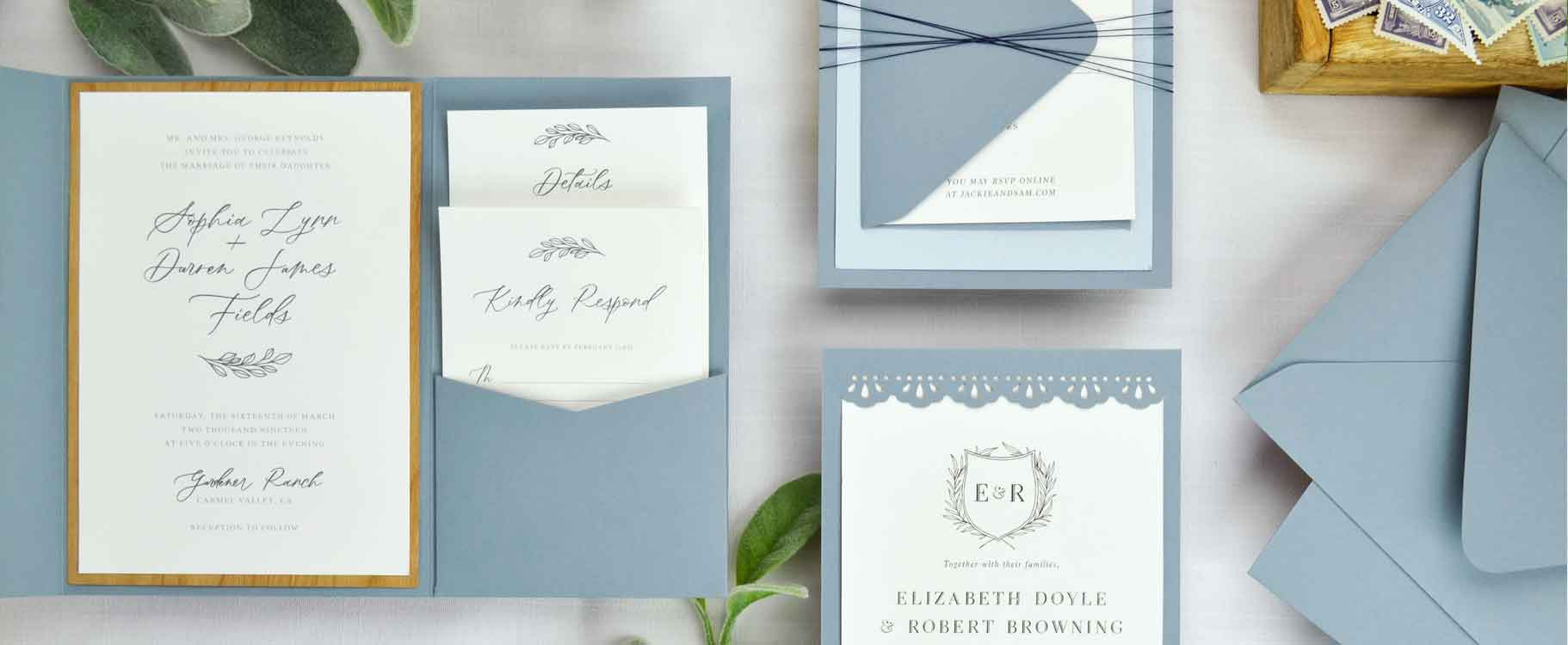 Dusty Blue Paper
