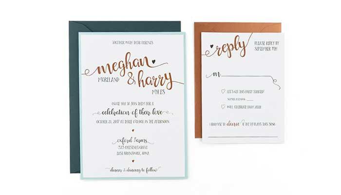 wedding invitations cards pockets