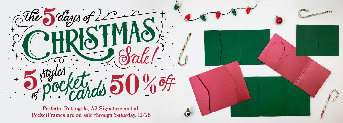 5 Days of Pockets Sale