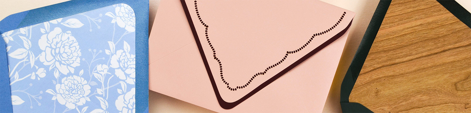 Envelopes and Liners
