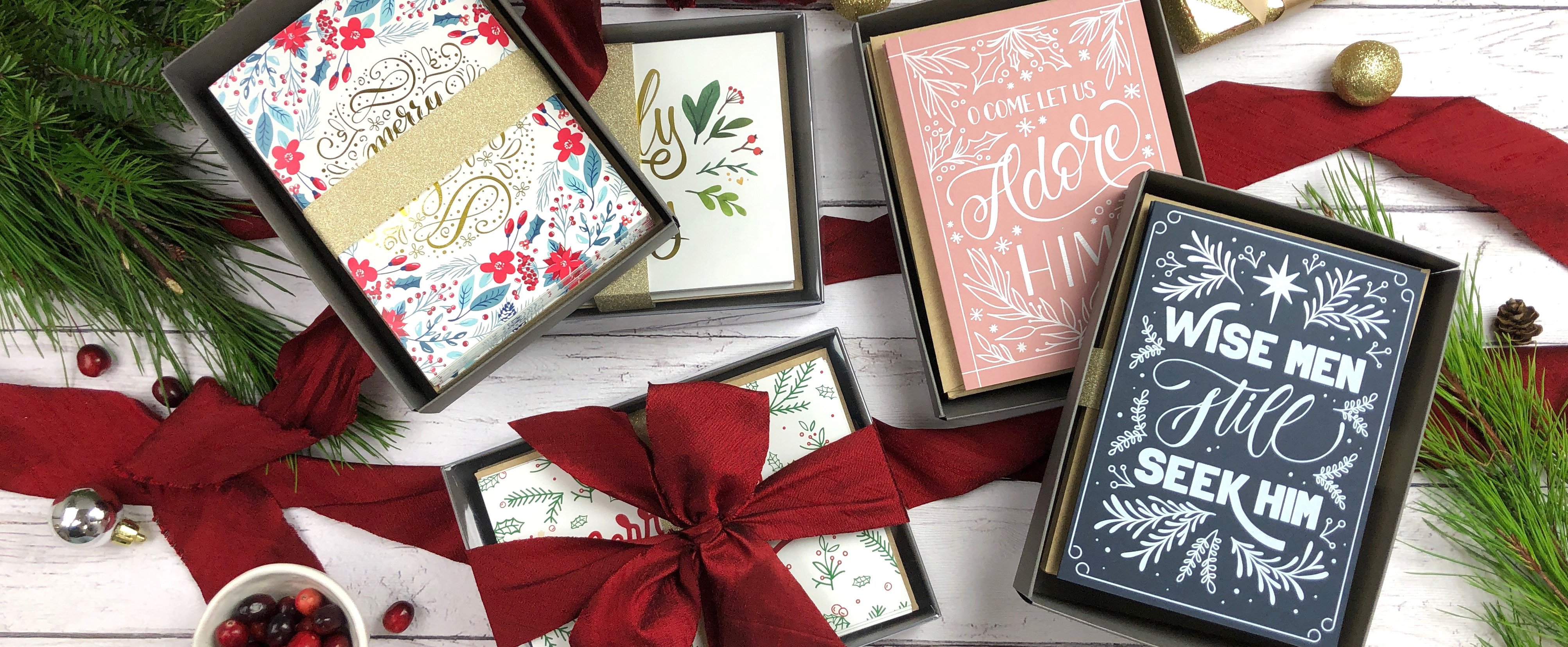 Holiday Card Box Sets