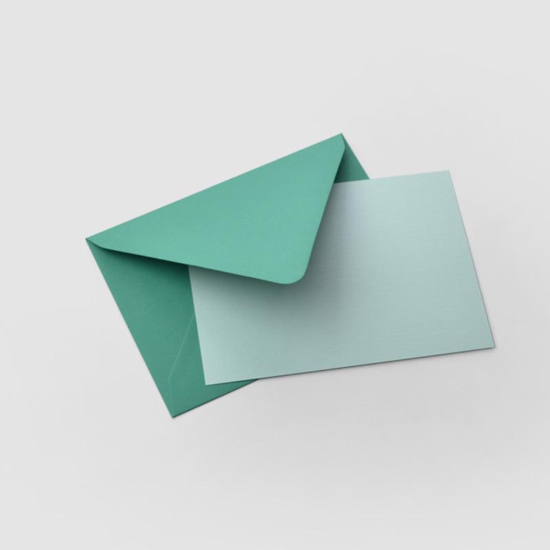 envelopes Rose Bouquet Stationery set of 6 folded cards