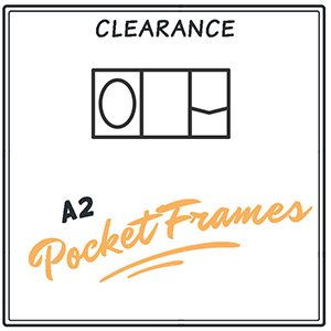 Clearance A2 Signature PocketFrames