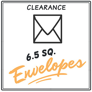 Clearance 6 1/2 Envelopes