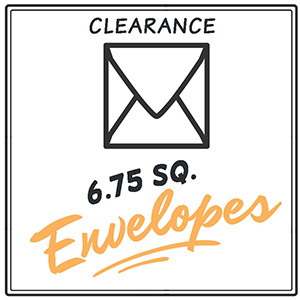 Clearance 6.75 Envelopes