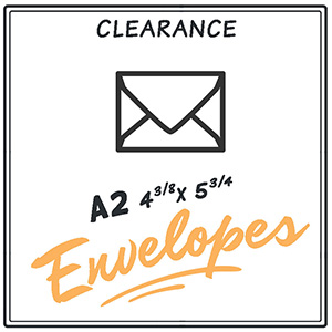 Clearance A2 Envelopes