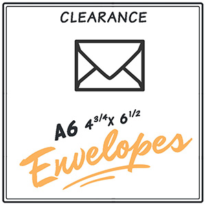 Clearance A6 Envelopes