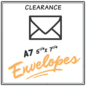 Clearance A7 Envelopes