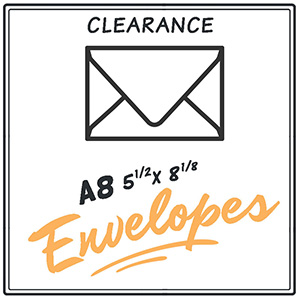 Clearance A8 Envelopes