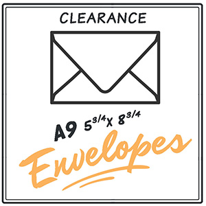 Clearance A9 Envelopes